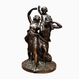 Bronze Sculpture Representing a Family