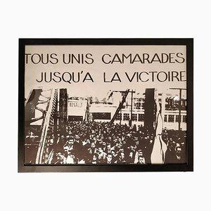 Affiche Encadrée de Mai, 1968