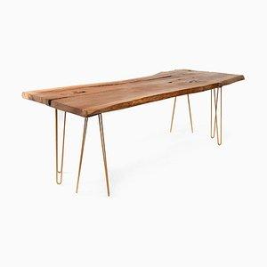 Großer Handwerkstisch aus Holz