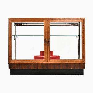 Holz Juwelier Vitrine