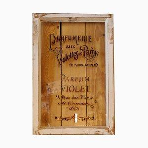 Vintage Parfum Schaufenster Glas