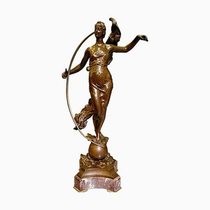 Bronze Phoebe Sculpture