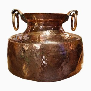 Large Copper Pot