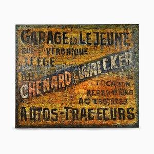 Garage Lejeune Sheet Metal Painting