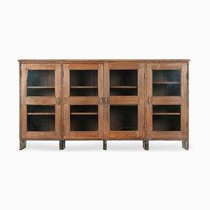 Glasiertes Holz Sideboard