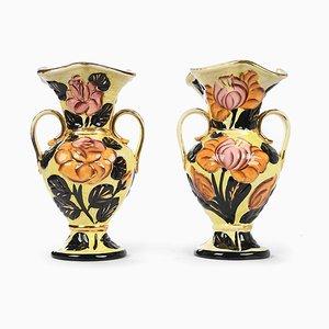 Keramik Blumenvase von Vallauris, 2er Set