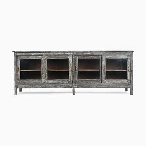 Wooden Glazed Console Table