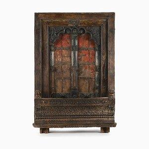 Verwitterte Vintage Holztür
