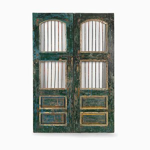 Vintage Weathered Wooden Door