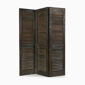 Vintage Raumteiler mit 3 Türen
