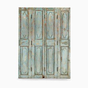 Patinierter Vintage Raumteiler mit 4 Türen