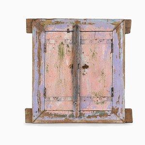 Patinierte Vintage Fensterläden aus Holz