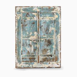 Divisorio vintage in legno patinato