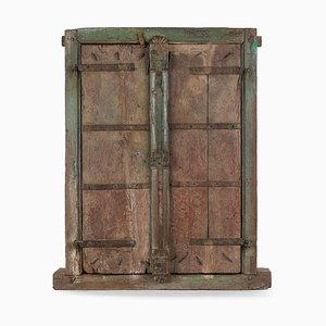 Patinierter Vintage Raumteiler aus Holz