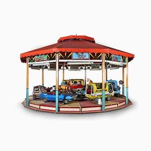 Vintage Fairground Carousel, 1960s