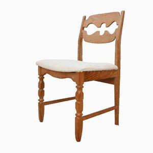 Mid-Century Danish Razorblade Dining Chair by Henning Kjærnulf, 1960s