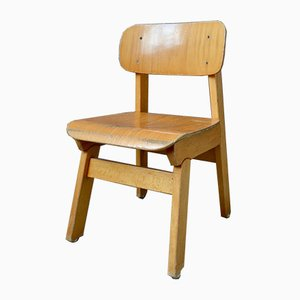 Wooden Childrens Chair, 1960s