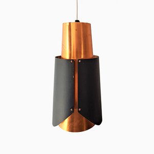 Lampade da soffitto Osterport di Bent Karlby per Lyfa, anni '60, set di 2