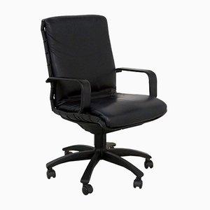 Black Antropovarius Desk Chair by Porsche for Poltrona Frau, 1990s