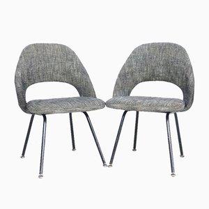 Chaises de Salon Modèle 71 par Eero Saarinen pour Knoll Inc. / Knoll International, 1950s, Set de 2