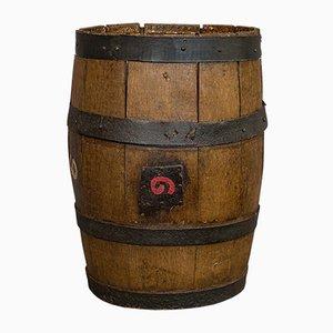 Barre de Whisky Antique Victorienne Antique en Chêne, Angleterre