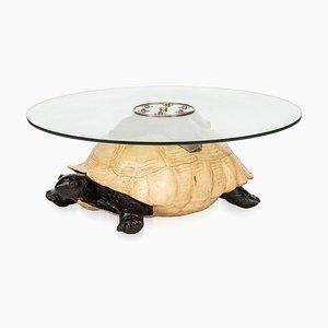 Englischer Vintage Couchtisch in Schildkröten-Optik von Anthony Redmile, 1970er