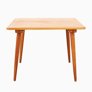 Mid-Century Cherry Wood Side Table by Jacob Müller for Wohnhilfe, 1940s