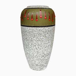 Große Glasierte Vase, 1960er