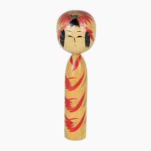 Kokeshi Puppe von Mitsuro Rokugo, 1970er