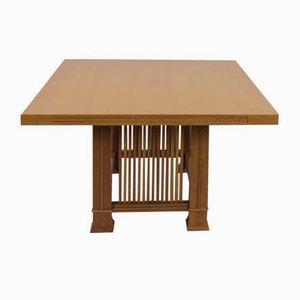 Table de Salle à Manger Husser par Frank Lloyd Wright pour Cassina, 1990s