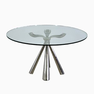 Dining Table by Vittorio Introini for Saporiti Italia, 1970s