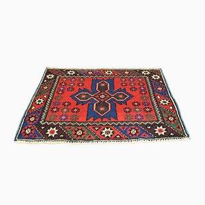 Vintage Turkish Wool Oushak Carpet, 1950s