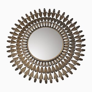 Metal Sunburst Mirror, 1960s