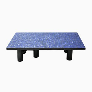 Vintage Model Lapis Lazuli Coffee Table by Etienne Allemeersch