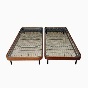 Italian Twin Beds, 1960s, Set of 2