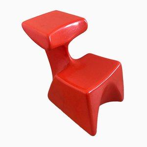 Chaise de Bureau pour Enfant par Luigi Colani pour Top system, 1970s