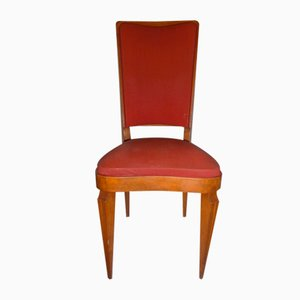 Art Deco French Dining Chairs by André Arbus, 1930s, Set of 6