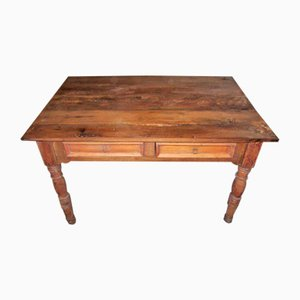 Antique Italian Rustic Dining Table, 1800s