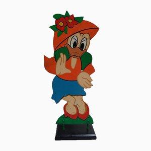 Wooden Disney Figure, 1960s
