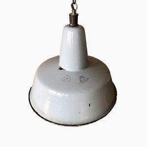 Industrielle Fabrik Deckenlampe von Wikasy A23, 1950er