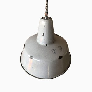 Plafonnier d'Usine Industriel de Wikasy A23, 1950s