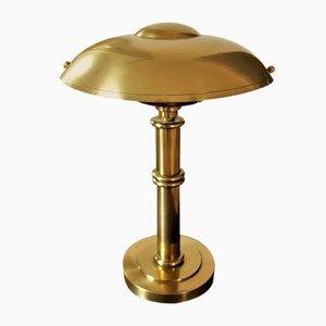 Art Deco Brass Table Lamp, 1920s