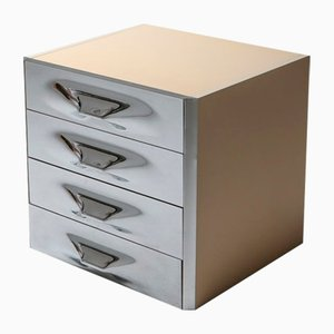 Mid-Century Chrome Chest of Drawers by Raymond Loewy, 1960s