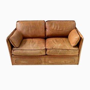 Vintage Leather Sofa, 1980s