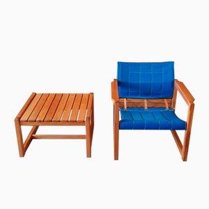 Set de Fauteuil & Table Basse Diana par Karin Mobring pour Ikea, 1970s