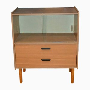Small Vintage Display Cabinet, 1970s