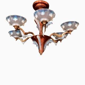 Französischer Art Deco Kronleuchter