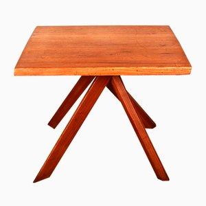 Tavolo rettangolare modello T27A in olmo di Pierre Chapo, anni '70