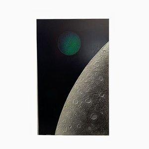 Panneau Space Age en Bois et Résine par Stefano Bersani, 1976
