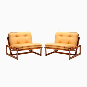 Carlotta Lounge Chairs by Tobia & Afra Scarpa for Cassina, 1960s, Set of 2